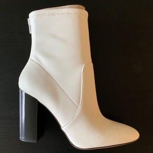 BRAND NEW! Aldo Lovelee Bootie, White, size 7.5